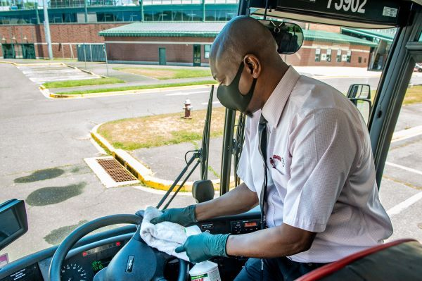 DATTCO's Clean Care Certified is a commitment to thorough cleaning; using technology to keep passengers safe; protective procedures; and creating confidence in riding the company's vehicles.