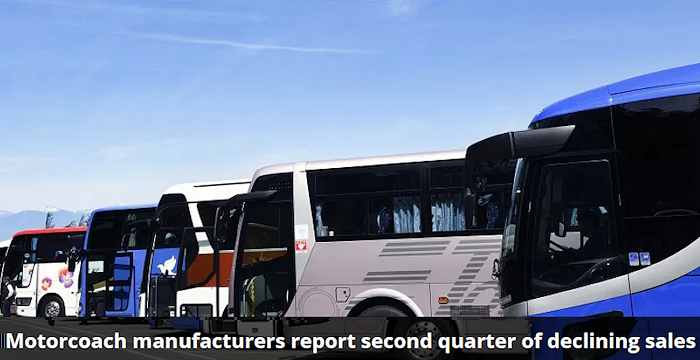 Based on surveys of the major motorcoach manufacturers that sell vehicles in the United States and Canada, motorcoach sales from the participating manufacturers saw a massive year-over-year decline