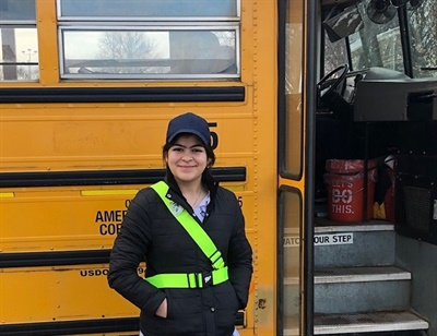 Vermillion School District joined the American Automobile Association's (AAA) School Safety Patrol program to make its students more aware of school bus safety guidelines, Jon Cole, the resource officer for Vermillion Middle School, told School Bus Fleet.