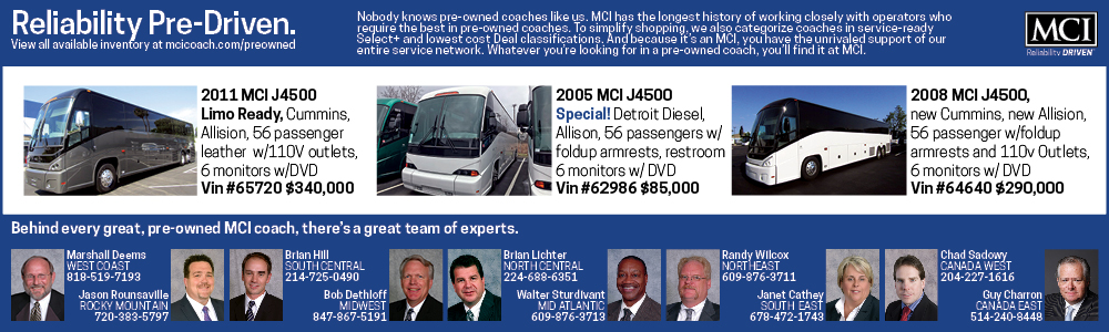 Echo/AFC Transportation Adds Seven New Van Hool CX45 Coaches to Fleet