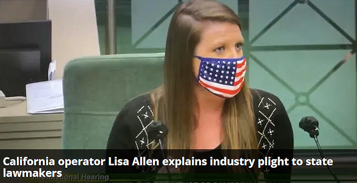 The California Bus Association (CBA) asked Lisa Allen to be the voice of the industry before a panel of lawmakers who wanted to know the impact of the pandemic on the state's $84 billion tourism industry.
