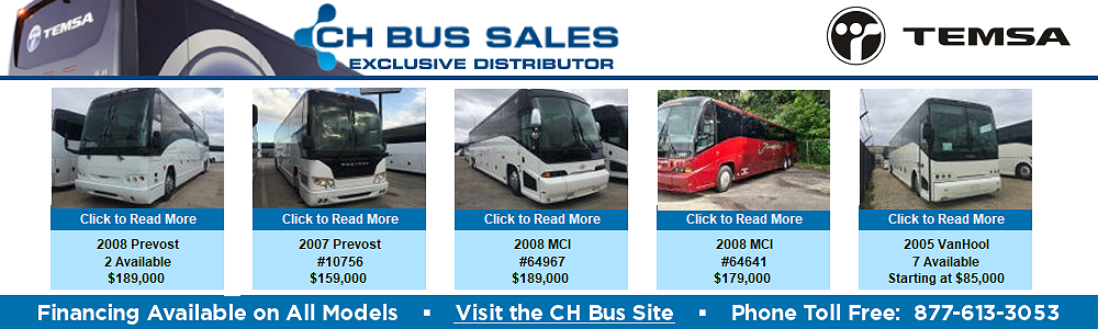 Bus Weekly from Bus Solutions Holdings, LLC
