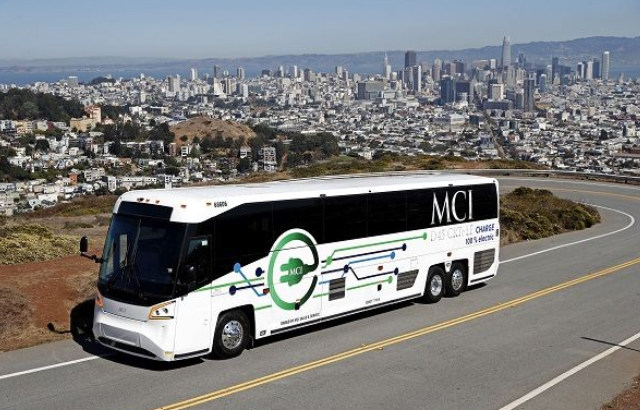 Motor Coach Industries (MCI) battery-electric D45 CRTe, D45 CRTe LE, and J4500e coaches received approval by the California Air Resources Board (CARB) for the Hybrid and Zero-Emission Truck and Bus Voucher Incentive Project (HVIP), with vouchers covering up to $150,000 for each coach sold in the state.