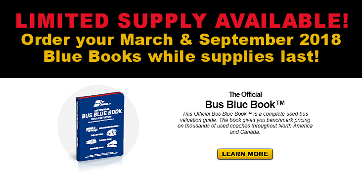 Bus Blue Books Limited Supply